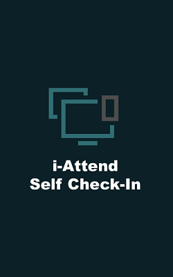 i-Attend Self Check-In Splash page